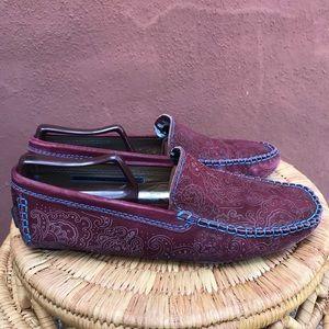 Robert Graham Verrazano Driving Loafers